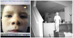 Un padre puso una cámara oculta y a las 2 de la madrugada captura a su hijo de 6 años haciendo esto #viral