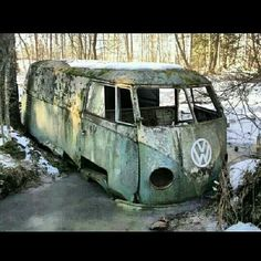 Sad end for this VW......