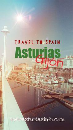 España: Lugares con encanto en España #travel #viajes #Spain #Asturias