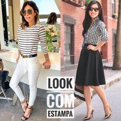 Look, Capri Pants, Anna, Fashion, Gingham, Stripes, Block Prints, Moda, Fashion Styles