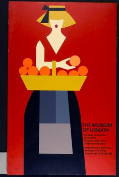 Tom Eckersley (1977), Museum of London poster