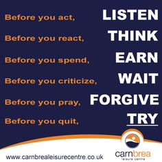 Before you quit...TRY! http://www.carnbrealeisurecentre.co.uk