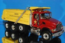 First Gear Mack B-61 SILVI Granite Heavy Duty Dump Truck # 19-3098 1:34  CC 16E