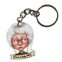 Golden Girls - Sophia Petrillo Keychain