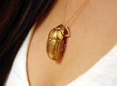 Scarab pendant by dadrummond