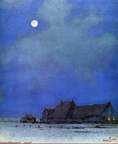 The Silence Of Spaces By Anton Pieck 1895-1987