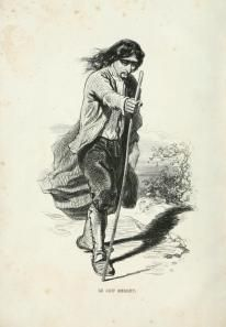 Eugène Sue - Le Juif errant, edición ilustrada por Gavarni (1845)