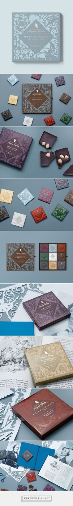 This Gorgeous Chocolate Collection is What Fairytales Are Made Of — The Dieline | Packaging & Branding Design & Innovation News - created via https://pinthemall.net