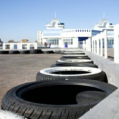 Gokart track on South Parade Pier, Portsmouth