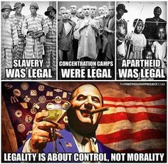 """Legal is not the same as moral  If we would quit doing dumb shit, we wouldn't need soo many assholes whose full time job is begging for money from """"constituents"""" and whose part time job is telling us to not do dumb shit in addition to all the other shit they are paid to make you do or stop you from doing."""