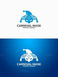 Carnival Mask Logo