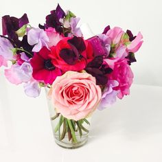 """""""From now on, we're only matching our manis to fresh flowers..thanks @essiepolish!  #wishfulthinking #beautyhero"""""""