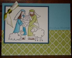 Baby Jesus by gretchenb - Cards and Paper Crafts at Splitcoaststampers