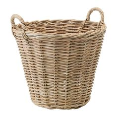 """IKEA - NIPPRIG 2015, Basket, gray, 19 ¼x19x19 """", , Each basket is woven by hand and is therefore unique.Handmade by skilled craftspeople, which makes every product unique in design and size."""