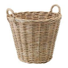 NIPPRIG 2015 Basket - grey, 49x48x48 cm - IKEA