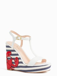 365d1041d these Deacon Wedges from Kate Spade New York perfect seacoast sandals for  your summer