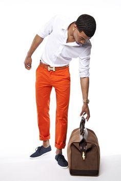 Pantalones anaranjados: quiero dooos!!!