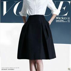 women fashion brand 2013 europe skirt OL skirt high waist A skirt free shipping good quality