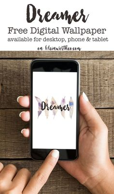 Dreamer Digital Wallpaper, a fun way to bring fall to your digital devices…
