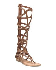 image of Leather Tall Gladiator Sandal