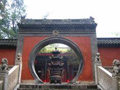 Jade Fountain Temple, Taoism Temple, Yellow Mountain (Huangshan Mountian), China