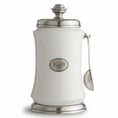Arte Italica Tuscan Coffee Canister W Spoon Kitchen Stuff Items Gadgets
