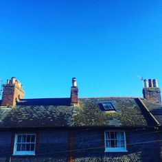 Blue skies over UK this morning. (at Lewes, East Sussex) Blue Skies, East Sussex, San Francisco Skyline, Over The Years, Photographs, Travel, Viajes, Photos, Destinations