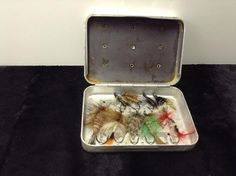 Fishing tackle fly metal box. Excellent Mother's Day/Father's Day present! - Diggit Victoria