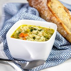 Spring Soup for a Dogwood Winter