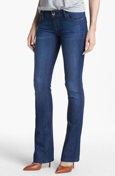 'Cindy' Slim Boot Jeans (Valencia). In Stock, Price: $108.58.  #bootcut_jeans