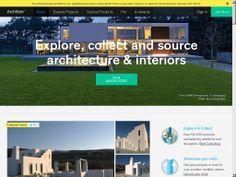 The website 'http://architizer.com/' courtesy of @Pinstamatic (http://pinstamatic.com)