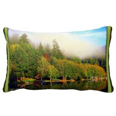 Custom Pillows you design online-Fall at Fishhawk Lake-Photo by Gayle Rich-Boxman Copyrighted All Rights Reserved 2014