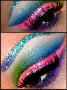drag queen :: this eye! Need to figure out how to do this