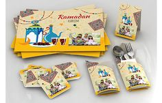 Home of Gifts Ramadan 2016, Ramadan Gifts, Top Gifts, Placemat, Thursday, Sunday, Board, Table, Domingo