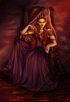 Amarantha  Who doesn't like an evil Fae Queen... Amarantha from A Court of Thorns and Roses by LadyAnutar