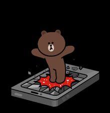Oh my phone Cartoon Gifs, Cartoon Art, Bear Gif, Cony Brown, Profile Wallpaper, Random Gif, Cute Couple Cartoon, Cute Love Gif, Bunny And Bear