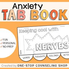 New Product :: Anxiety Tab Book