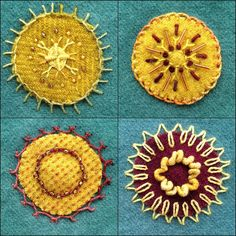 Embroidered Mandalas | Flickr - Photo Sharing!