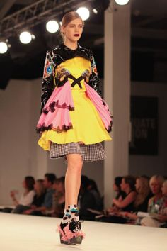 Natalie Dawson London Graduate Fashion Week Manchester School of Art