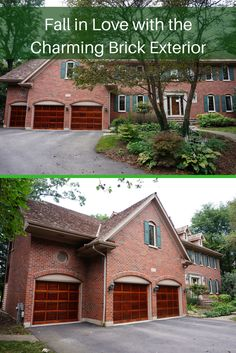 Fall in love with elegance of the brick exterior and the charming front landscape of this 4 bedroom and 4.5 bath Naperville home for sale.