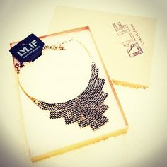 """""""Can't wait to style and blog about necklace! Thank you @LYLIF"""""""