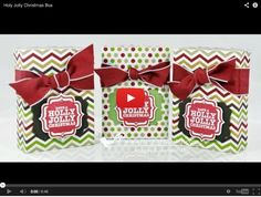 Holly Holly Christmas Box http://www.mychicnscratch.com/2013/09/holly-jolly-christmas-box.html
