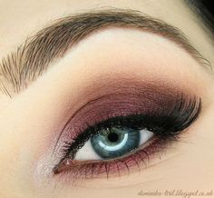 Never be afraid of a cranberry brown shade, especially if super pigmented <3