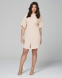 Wedding Outfit for Guest / SUMMER /: 45 Plus Size Wedding Guest Dresses with Sleeves - Plus Size Cocktail Dresses - a. Cute Wedding Guest Dresses, Black Wedding Dresses, Wedding Dresses Plus Size, Trendy Dresses, Plus Size Dresses, Plus Size Outfits, Nice Dresses, Dress Wedding, Wedding Reception