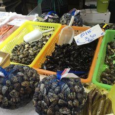 Moluscos #receitaitaliana #mercado #mercato #market #italia #italy #roma #rome #comida #cibo #food #receita #receitas #recipe #ricetta #mercadotrionfale #mercatotrionfale #trionfalemarket #peixe #fish #pesce #vongole #cozze #molluschi #moluscos #molluscs