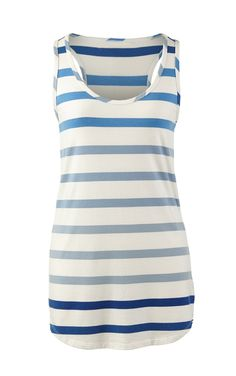 Wide Stripe Tank - CAbi Spring 2015 Collection Love the ombré color pattern! www.shellimartin.cabionline.com
