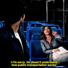 Jane and Rafael Public Transportation Jane the Virgin Cw Series, Best Series, Netflix Series, Netflix Quotes, Jane The Virgin Rafael, Jane And Rafael, Virginity Quotes, Good Girl Quotes, Justin Baldoni