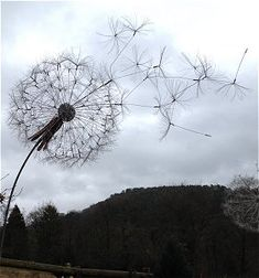 dandelion sculpture - Google Search