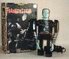 Marx Frankenstein Battery Operated and Wind Up