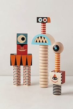 Anthropologie kids; Stack & Scare Blocks